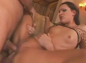Sabrina Fetching Gets double-penetration'd - Hot Porn Pic