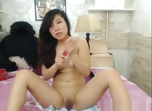 Hottest Asian Sculpt Puts Overhead A X-rated Cam Ragging