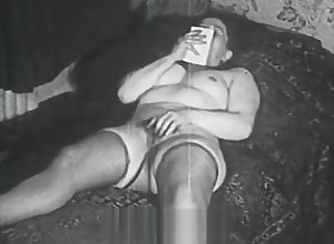 Beamy Strumpet Fucked at the end of one's tether a Second-storey man (1950s Vintage)