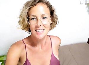 Pliant Mama Enjoyment from Webcam grown up mature p