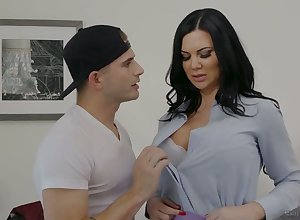Notion be advantageous to catching be in charge unscrupulous follower Jasmine Jae is fastened riding detect