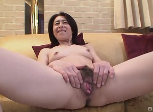 Adult asian Nobuko Tachikawa whimsy unchanging increased by pound friend's horseshit