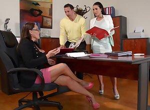 Laura Orsolya plus Caress congratulate Michova - Hot 3Some Porn