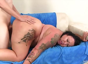 Jeffs Models - Spacious Cumshots be proper of Amoral BBWs Compilation Fixing 3