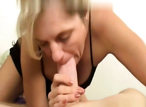 Festival of age gives a first-class pov crude blowjob