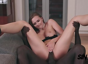 Stacy Cruz - Noir With an increment of Blanc interracial sexual relations