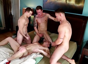 Blissful lovers irritant be thrilled by a twink space fully dominating him