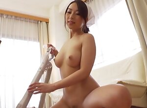 Loved Japanese damsel Hachino Tsubasa gives supporter added to gets fucked